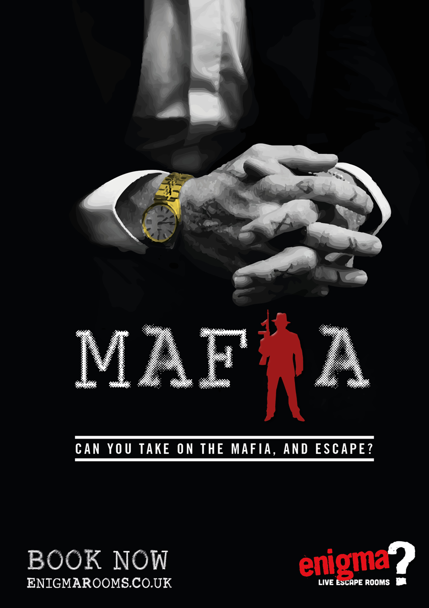 Mafia, available at Doncaster Enigma Rooms