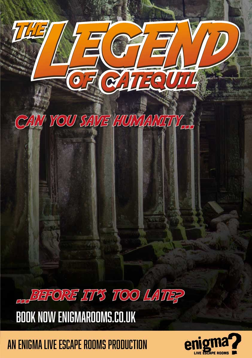 Movie poster of the Legend of Cataquil