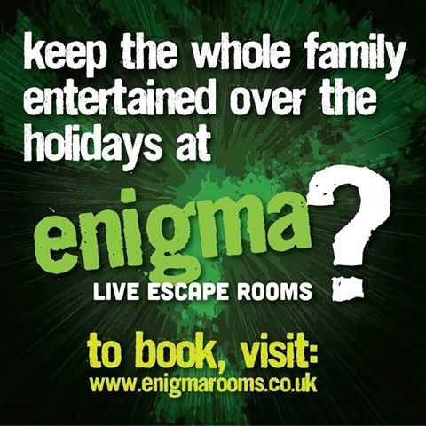keep the whole family entertained at Enigma Rooms - schools out, summers in