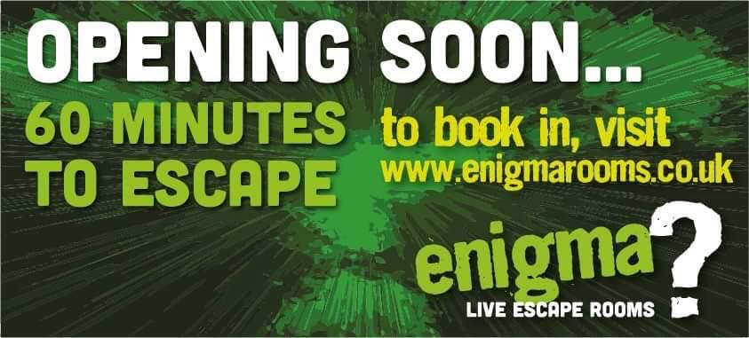 60 minutes to escape, Enigma Rooms Hull
