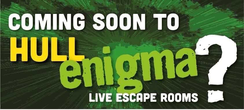 Coming soon to Hull, a brand new Enigma Rooms location