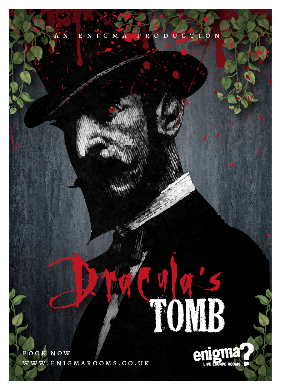 Image of hull enigma rooms Dracula's Tomb