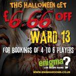 Ward 13 at Doncaster, get £6.66 off