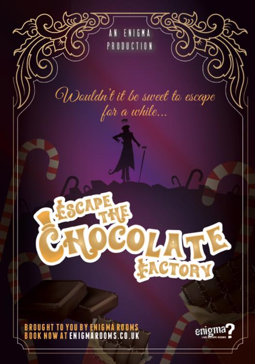 Escape the chocolate factory now open in Hull