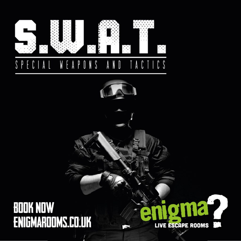 S.W.A.T at Enigma rooms Lincoln