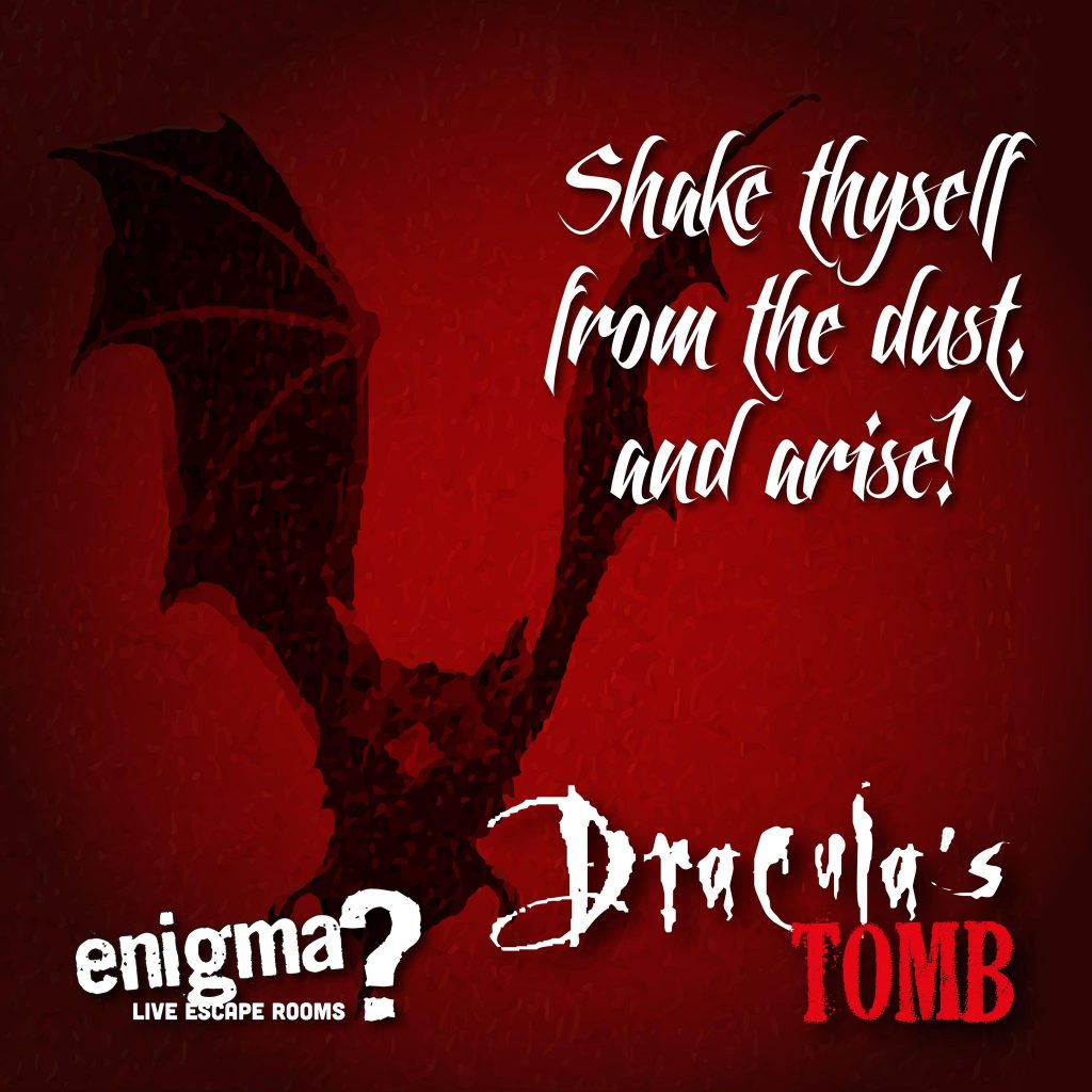 Draculas tomb escape room at enigma rooms hull